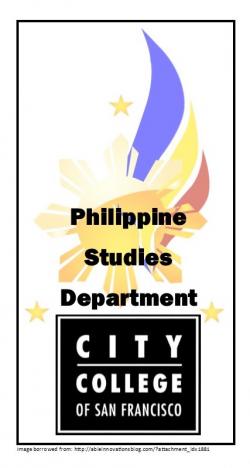 CCSF - Philippines Studies Department logo image