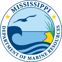 Mississippi Department of Marine resources logo image