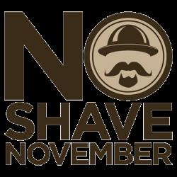 No-Shave November logo image
