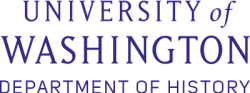 University of Washington, Department of History logo image