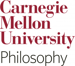 Department of Philosophy, Carnegie Mellon University logo image
