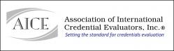 Association of International Credential Evaluators (AICE) logo image